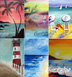 Pick A Painting-Beach Scenes