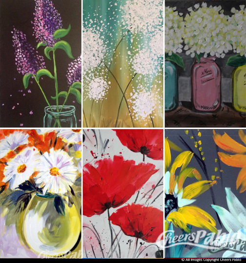 Pick a Painting -Florals