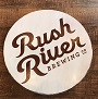 Rush River Wood round signs event