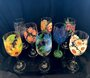 Wine Glass Painting! Pumpkins!