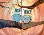 Couples Canvas: Owl Always Love You