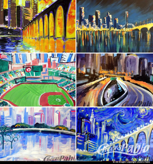 Pick a Painting - Cityscape